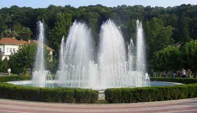 fontana u banji koviljači