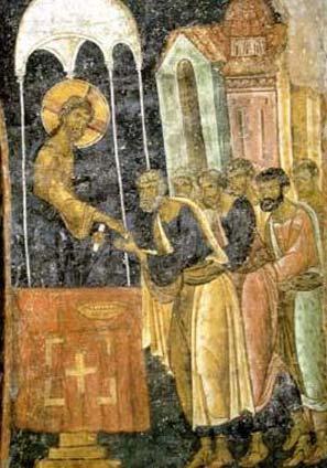 miropomazanje apostola