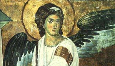 Beli anđeo, Mileševa